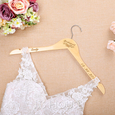 Bridesmaid Gifts - Personalized Fashion Wooden Hanger