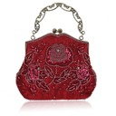 Elegant Satin Clutches/Wristlets/Totes/Bridal Purse/Fashion Handbags/Makeup Bags/Luxury Clutches