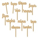 Nice Wooden Place Cards (set of 12)