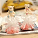 Cute Bear Favor Bags With Ribbons (Set of 12)