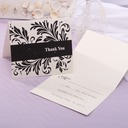 Personalized Modern Style Top Fold Response Cards (Set of 20)