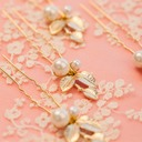 Bridesmaid Gifts - Classic Fashion Alloy Imitation Pearls Jewelry (Set of 6)