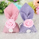 Lovely/Rose Design/Elegant Other Linen Favor Bags (Set of 12)