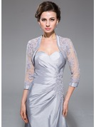 Lace Taffeta Tulle Special Occasion Wrap
