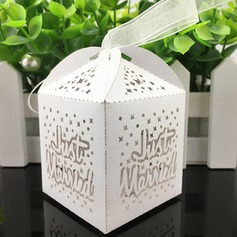 Cubic paper Favor Boxes