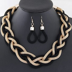 Unique Alloy Ladies' Jewelry Sets