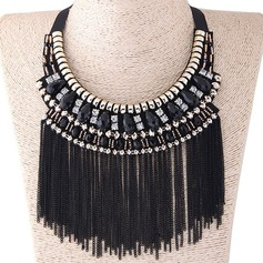 Chic Alloy Cloth Women's Fashion Necklace (Sold in a single piece)