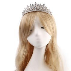 Ladies Nice Alloy Tiaras With Rhinestone (Sold in single piece)