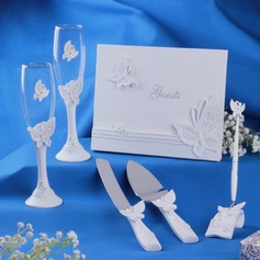 Butterfly Design Collection Set in Delicate Resin
