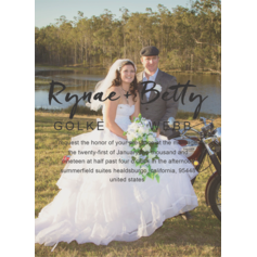 Solid Support Wedding Cards