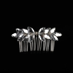 Crystal Combs & Barrettes With Rhinestone (Sold in single piece)
