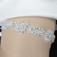 Gorgeous Ribbons With Rhinestone Wedding Garters