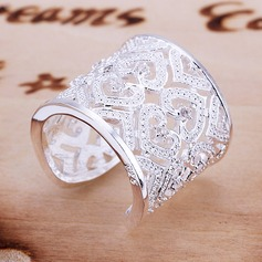 Gorgeous Silver Plated Fashion Rings (137069110)