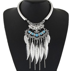 Shining Alloy Resin With Rhinestone Ladies' Fashion Necklace