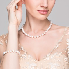 """Elegant Pearl/""""AA"""" Pearl/Freshwater Pearl With Pearl Jewelry Sets"""
