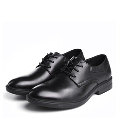Мужская натуральня кожа шнуровка Платья Men's Oxfords