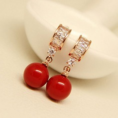 Unique Alloy Fashion Earrings (Set of 2)