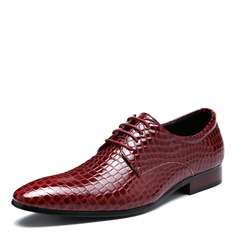 Men's Leatherette Lace-up Derbies Dress Shoes Men's Oxfords (259187608)