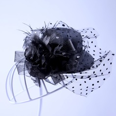 Ladies Elegant Tulle Hats