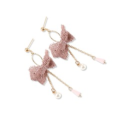 Exquisite Alloy Lace Women's Fashion Earrings