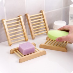 Creative wooden soap holder (set of 5)