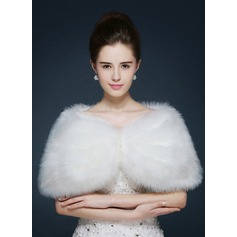 Faux Fur Fashion Wrap (013105207)