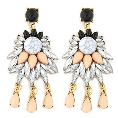 Alloy Resin Ladies' Fashion Earrings