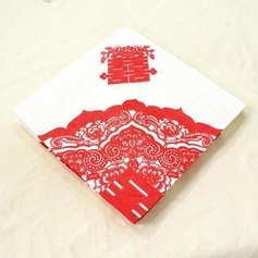 Double Happiness Design Dinner Napkins