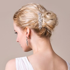 Gorgeous Alloy/Silver Plated With Pearl Ladies' Hair Jewelry