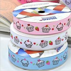 2/5-Inch Satin Ribbon (Three Color One Card)