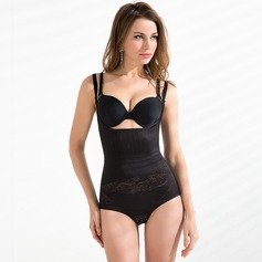 Spandex/Cotton/Chinlon Adjustable Straps Shapewear