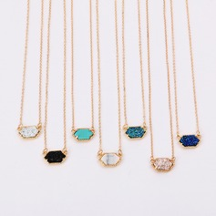 Bridesmaid Gifts - Fashion Alloy Resin Necklace