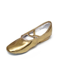 Women's Leatherette Jazz Dance Shoes