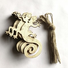 Simple/Beautiful/Rose shaped Nice/Attractive Wooden Wedding Ornaments