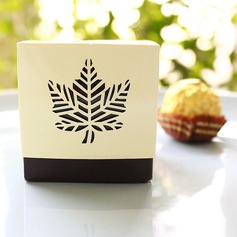 Classic Fall Leaf Favor Box