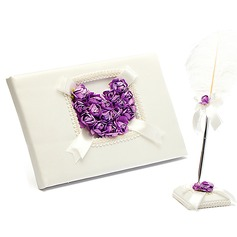 Rose Love Rose Guestbook & Pen Set