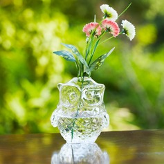 Conception de hibou Verre Vase
