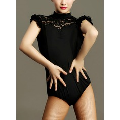 Women's Dancewear Lace Nylon Latin Dance Outfits