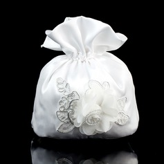 Pretty Satin/Lace Bridal Purse