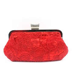 Charming Silk/Lace Clutches