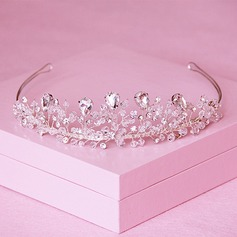Ladies Exquisite Crystal/Rhinestone/Alloy Tiaras