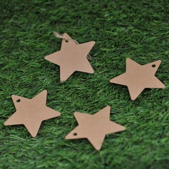 Star Design Kraft Paper Tags