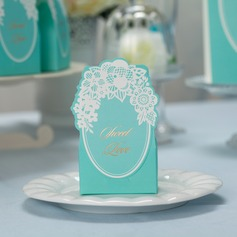 """Sweet Love"" Cuboid Favor Boxes"