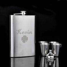 Personalized 6 pieces Stainless Steel Flask