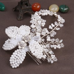 Special Imitation Pearls/Net Yarn Combs & Barrettes