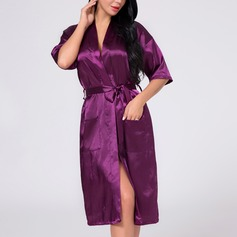 Bridesmaid Gifts - Sexy Beautiful Elegant Charmeuse Robe (Sold in a single piece)