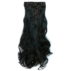 Loose Synthetic Hair Clip in Hair Extensions 12PCS 150g