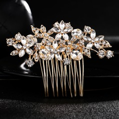 Gorgeous Crystal/Alloy Combs & Barrettes (Sold in single piece)