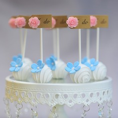 """I DO"" Cake Topper (Set of 10)"