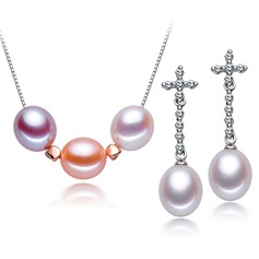 Beautiful Imitation Pearls Ladies' Jewelry Sets